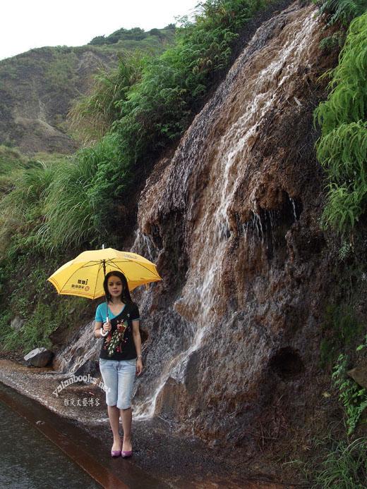 Taiwan Golden-waterfall View Romanticism  Photography 台湾 黄金瀑布 风光摄影 浪漫主义 Yalan雅岚 黑摄会